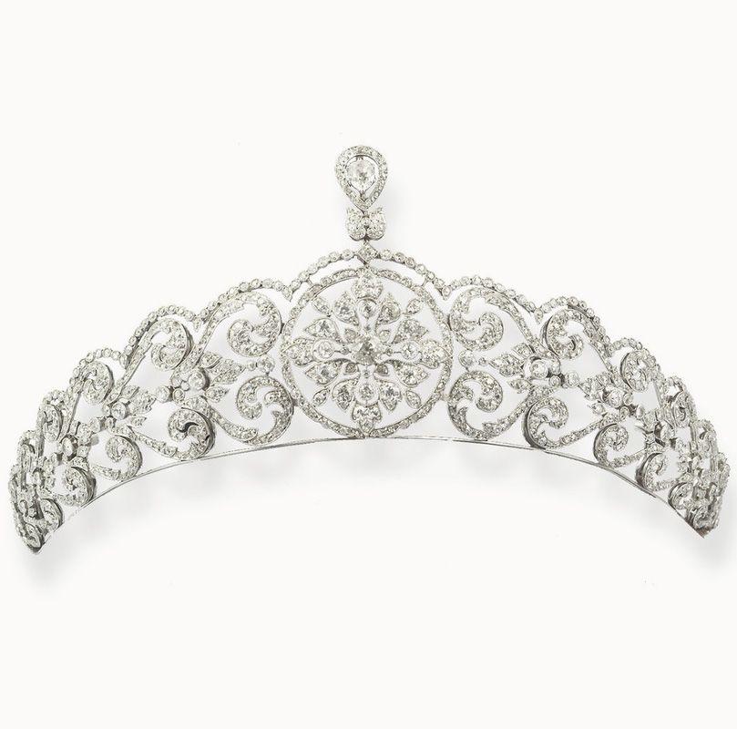 Belle Epoque diamond tiara.