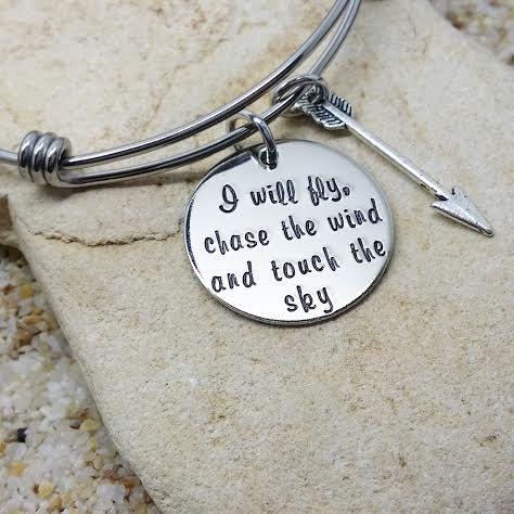 Jewelry - Bracelet - Bangle - Disney - Brave - Hand Stamped - Stamped Jewelry - Gift