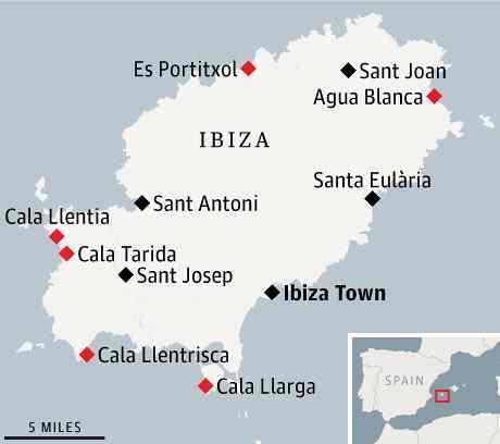 Ibiza\'s secret beaches | Ibiza | Ibiza, Ibiza map, Ibiza spain