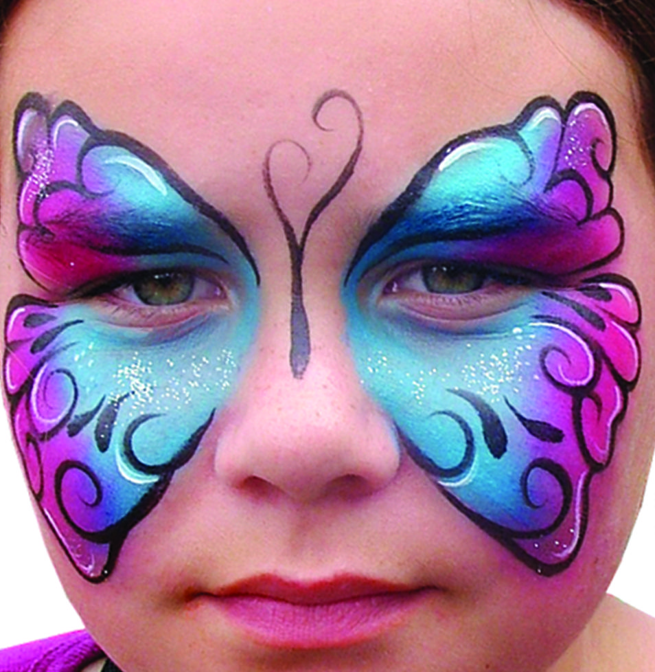 Image detail for -face Painting Ideas, Face Painting Tutorials ... for Butterfly Painting Designs  66plt