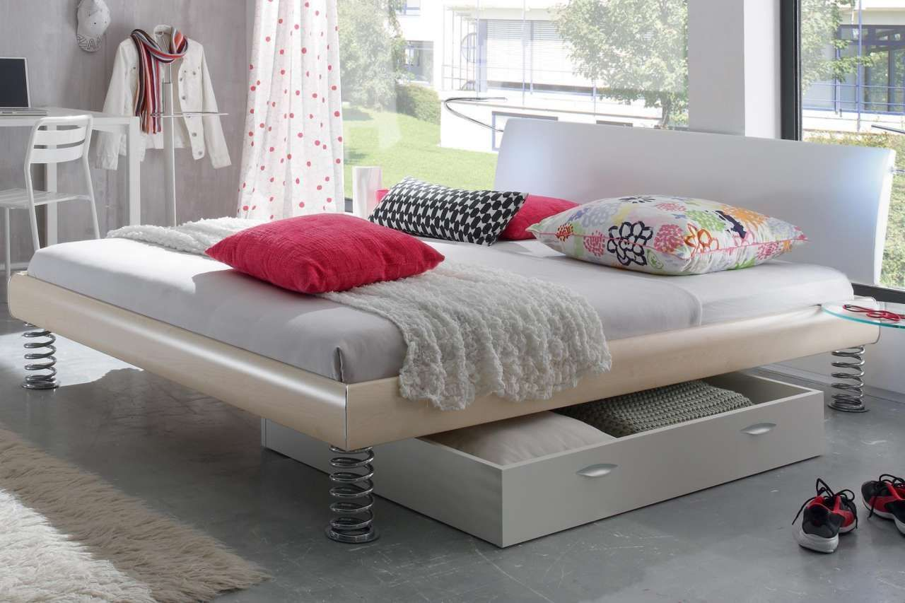 Hasena Bett Soft Line Noble 14 Jump Lecco 120x200 Cm In 2020 Cool Beds Bed Design Bedroom Design