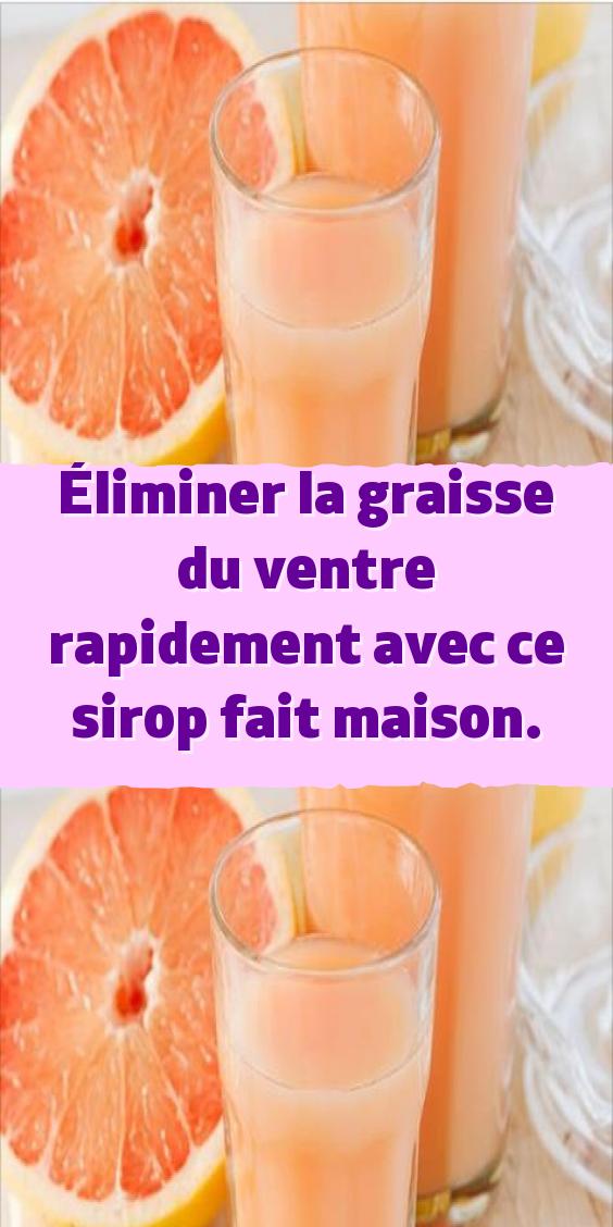 boisson pour maigrir maison