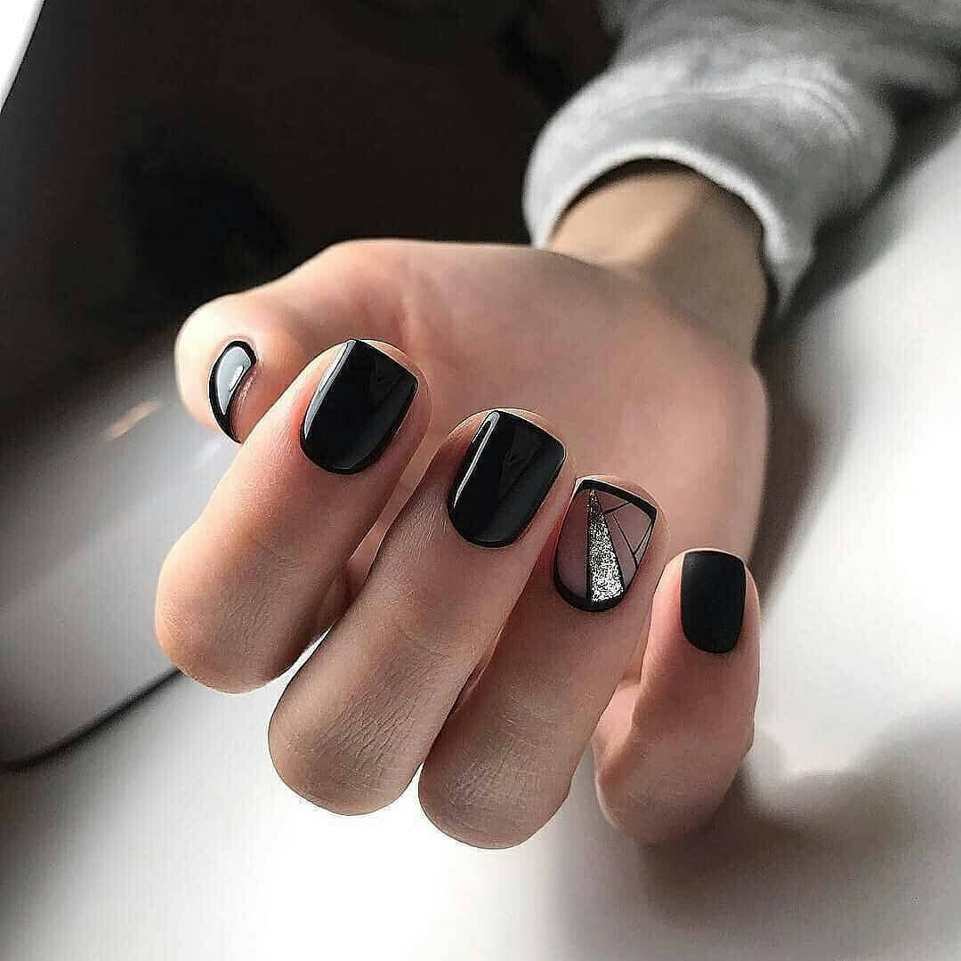 80 Dark Color Nail Designs For Women Christmas Nails Nail Designs Trendy Nails