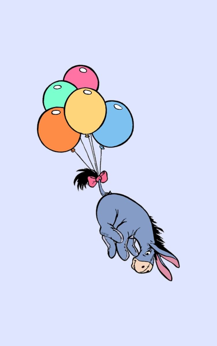 Image result for eeyore balloon Snoopy wallpaper, Cute