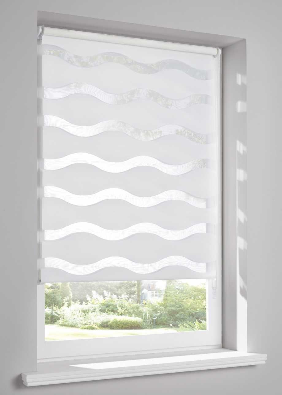 Toller Sichtschutz In Modisch Gewellt Weiss Klemmtrager Vorhange Modern Bad Gardinen Renovierung Und Einrichtung