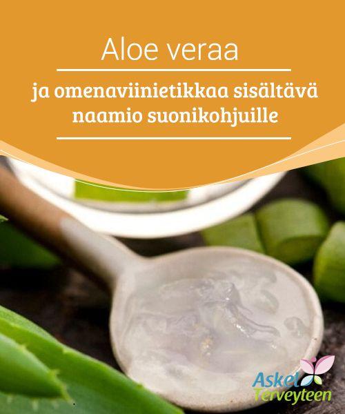 #Aloe veraa ja omenaviinietikkaa sisältävä naamio suonikohjuille  Onko sinulla #suonikohjuja ja haluatko kenties tietää, kuinka voit päästä niistä eroon tai ainakin #häivyttää niitä?  #Luontaishoidot