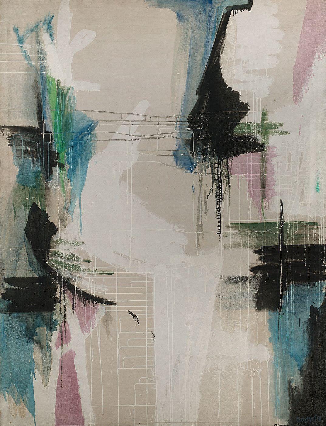 Judith Godwin, Abstraction No. 15 1955, Oil on canvas