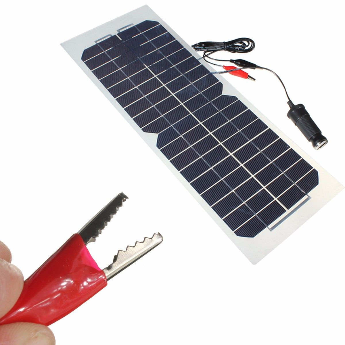 18v 10w 490x180mm Semi Flexible Monocrystalline Silicone Solar Panel Battery Charger Solar Kit Diy Solar Solar Panel Battery