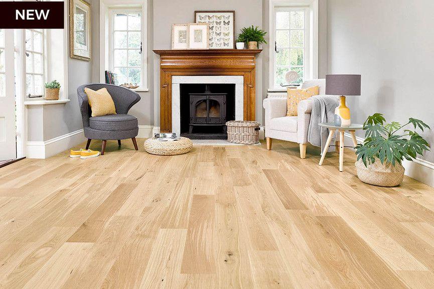 Home choice engineered european nature oak flooring 14mm x