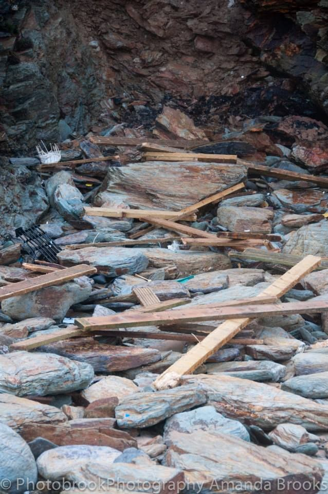 watergate bay storm damage