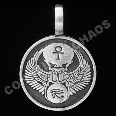 An Egyptian Talisman That Shows Three Symbols Scarab That Means