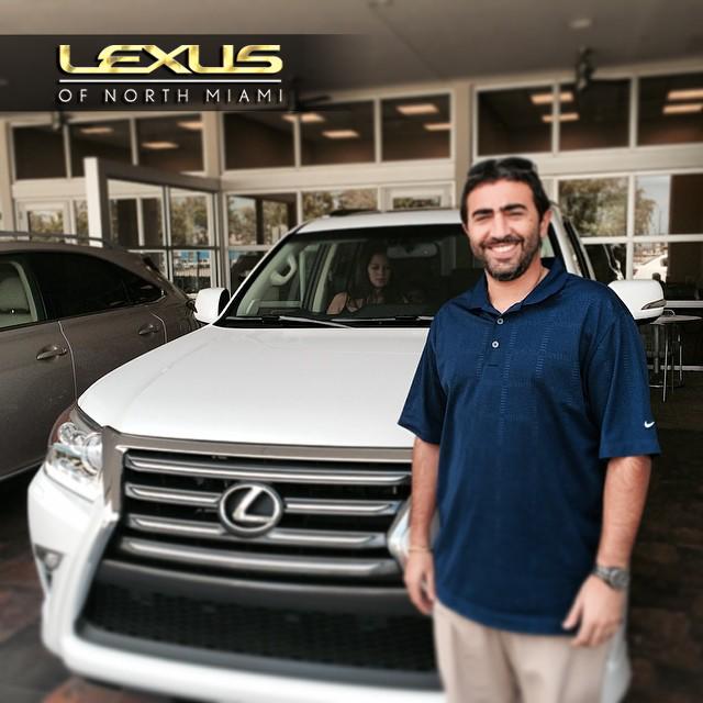 Congratulations To Nelson Tuma On His New 2014 Lexus GX
