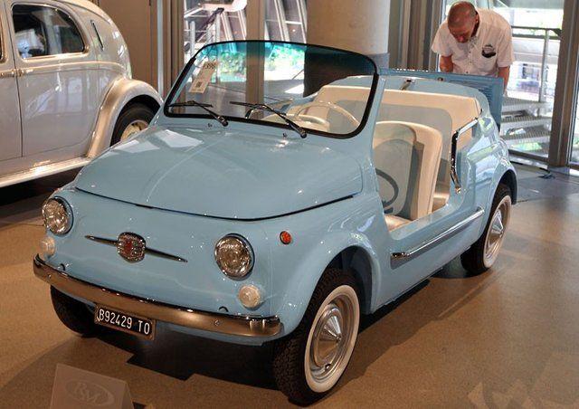 QTpie | '69 Fiat 500 Mare