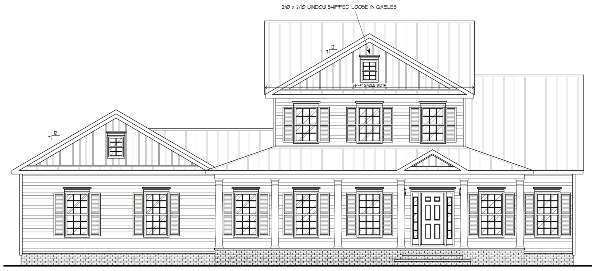 3Br/2.5Ba 2,281 sqft 2308 — H&H Builders Builder
