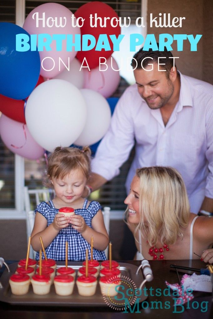 How to throw a birthday party on a budget!