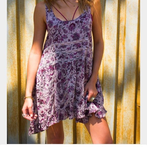 RARE Free People Paisley Trapeze Slip Harder to find as these are discontinued and no longer sold by FP! No flaws or any signs of damage to this slip. I only wore it one time, and definitely never got as much use out of it as I hoped to! Free People Dresses Mini
