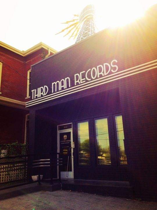 Third Man Records in Nashville, TN is the record store and recording studio  owned by