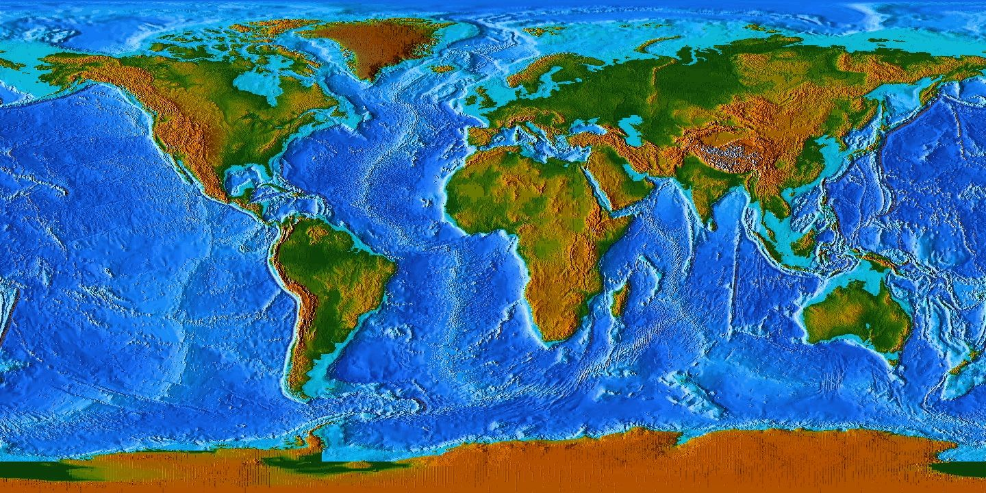 World Map Topographic Google Search Map World Map Elevation Map