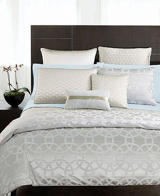 Hotel Collection Rings Bedding Like This Simple Comforter For