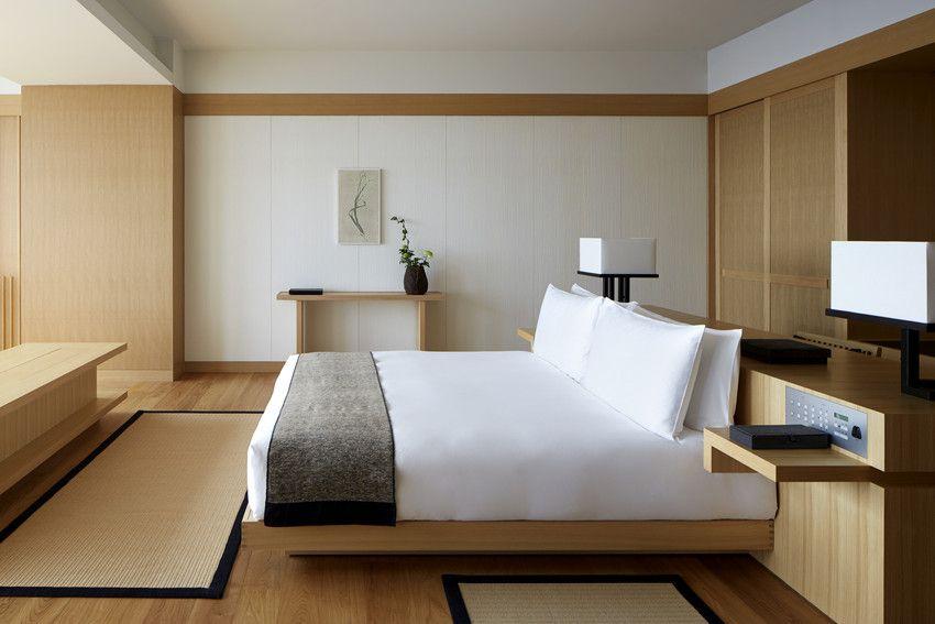 Aman Tokyo Elevates The Term Urban Retreat Hotel Interiors Hotel Room Design Bedroom Interior