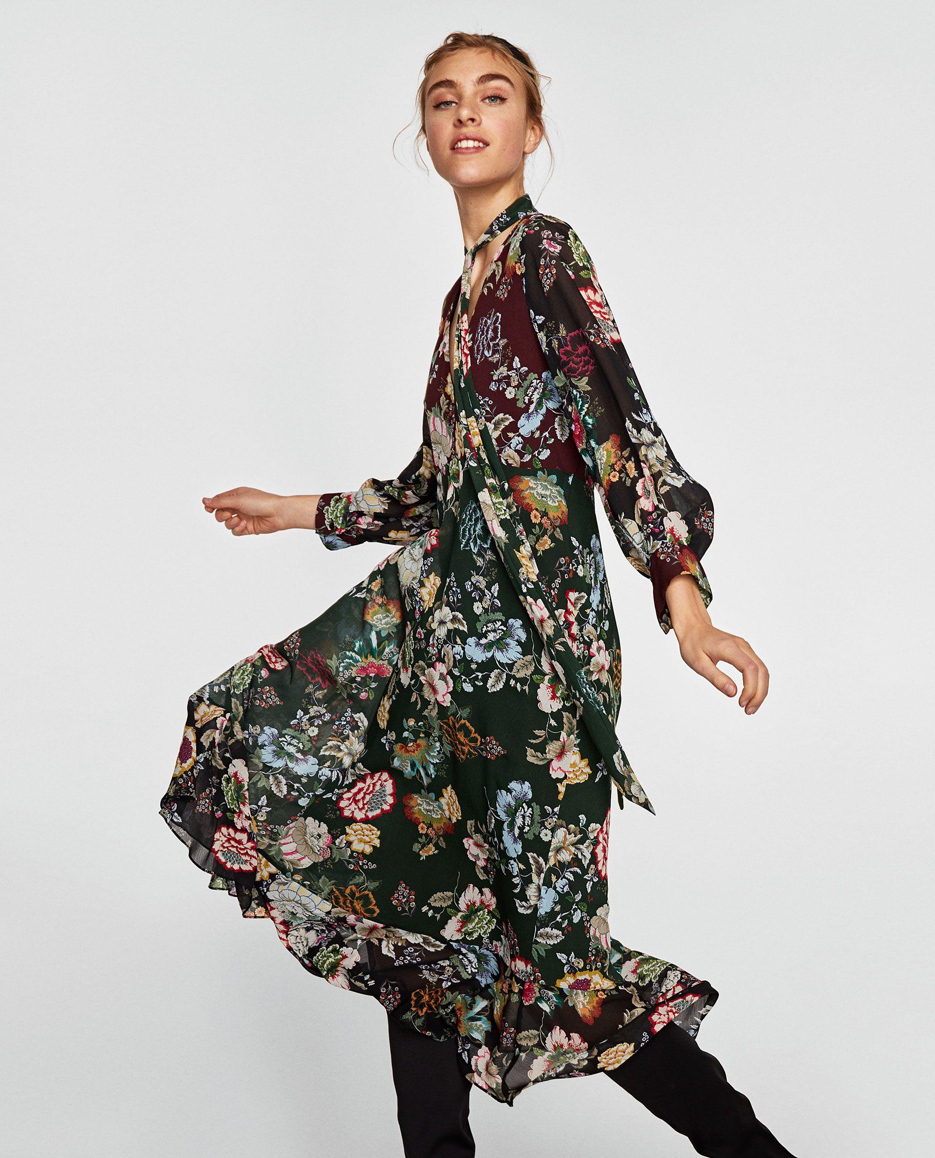 Robe Longue Fleurie Hiver Hebergements Paimpol