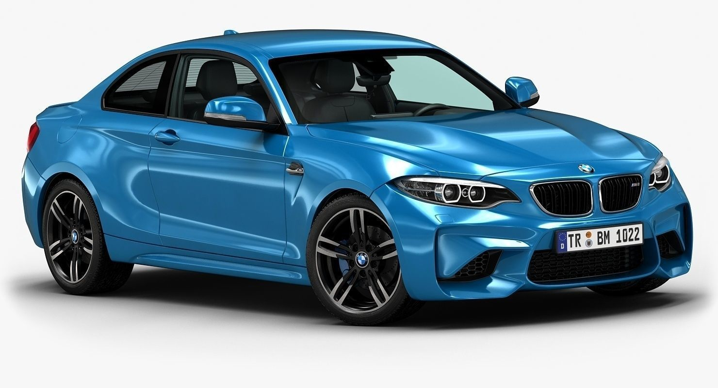 2016 Bmw M2 By Hkv Studios High Detailed 3d Model Of 2016 Bmw M2 With Interior Main Features Originally Created With 3ds Max 2010 Bmw Bmw M2 3d Model