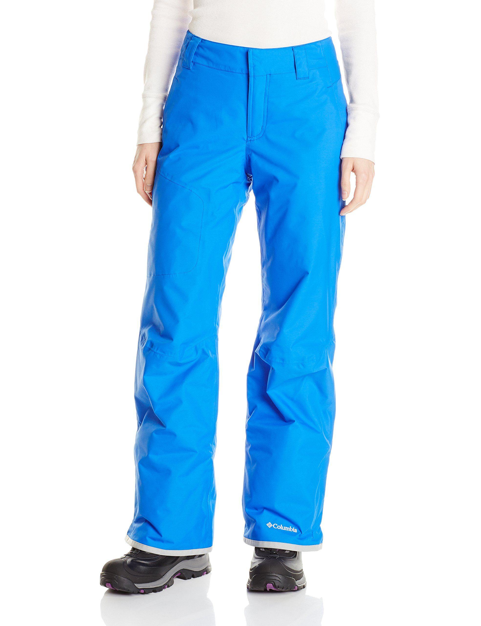 39f710fea83af Columbia Women's High Volt II Pant, Blue Macaw, Medium/Short. Zip ...