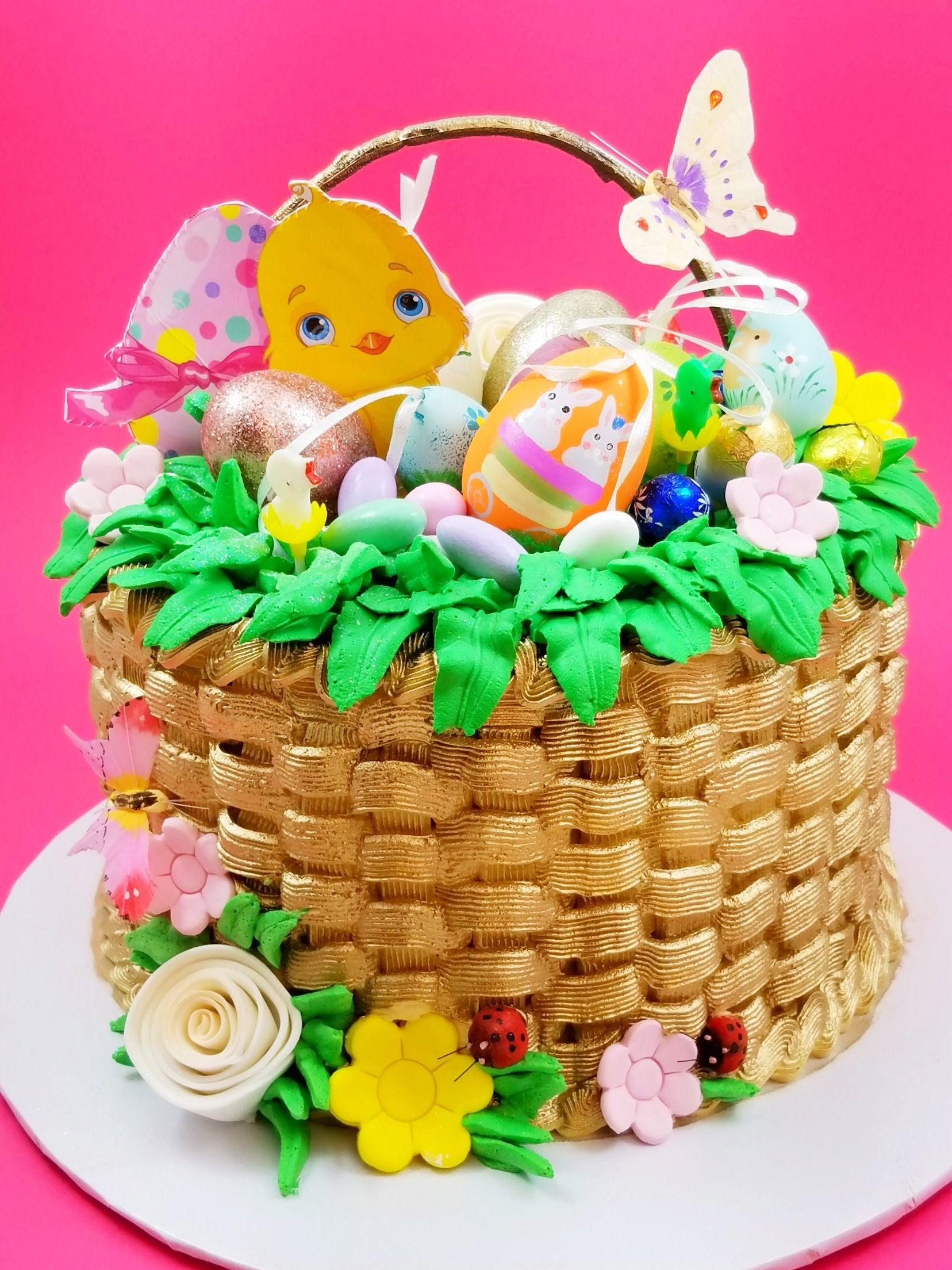 Easter basket cake easter basket cake easter cakes