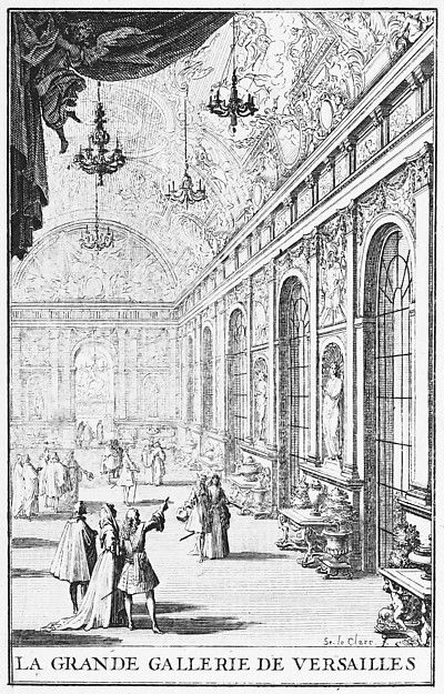 Sebastien Leclerc I Galerie Des Glaces At Versailles Versailles Hall Of Mirrors French Architecture