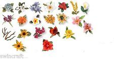 Sizzix Thinlits SUSAN'S GARDEN Cutting Dies Sets FLOWERS Special Clearance Price