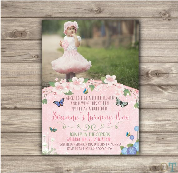 Butterfly Garden Birthday Printable Party Package Set Matching Theme Rustic Woodland Download Buntin