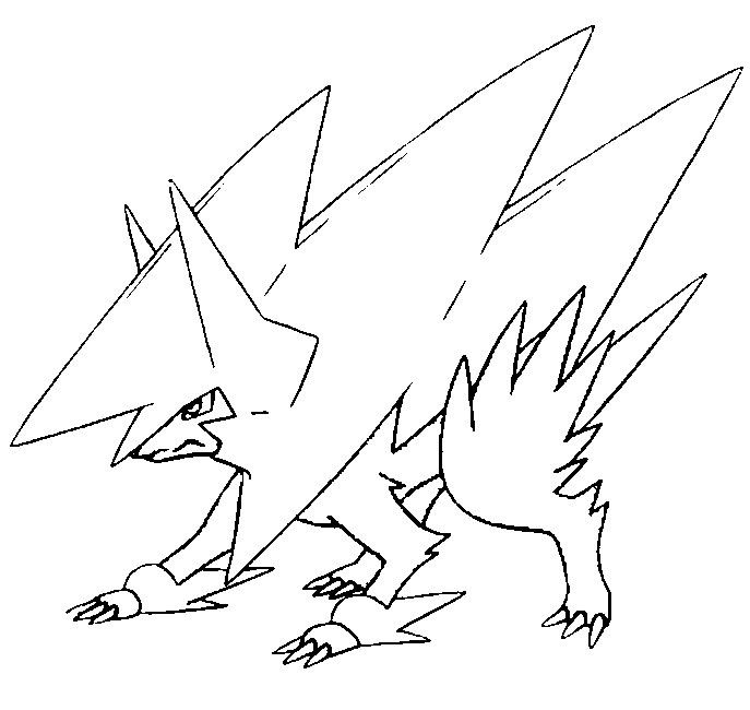 mega pokemon printable coloring pages coloring page mega evolved pokemon