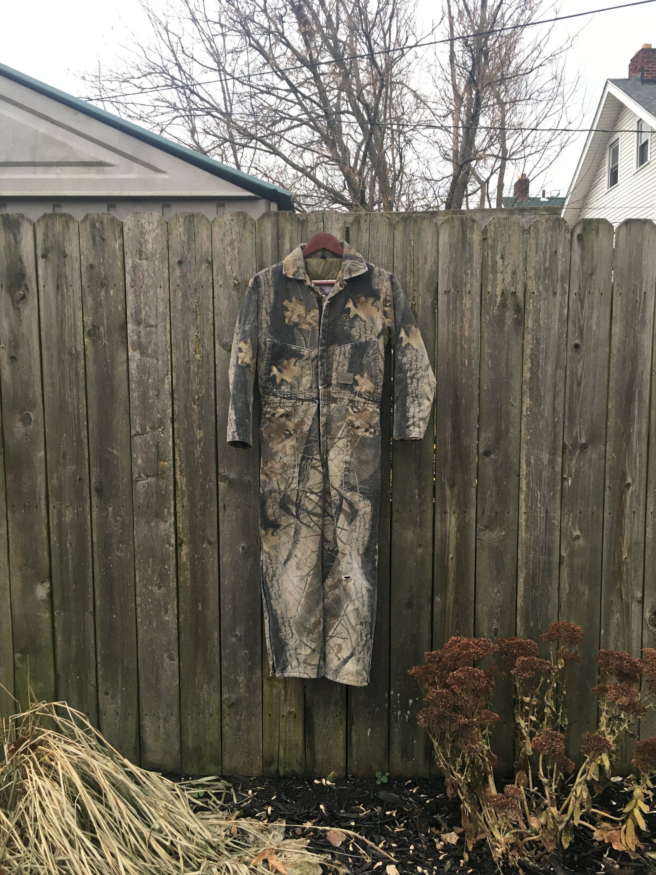 vintage 80 s walls leading the way outdoors camouflage zip on walls coveralls camo id=76327