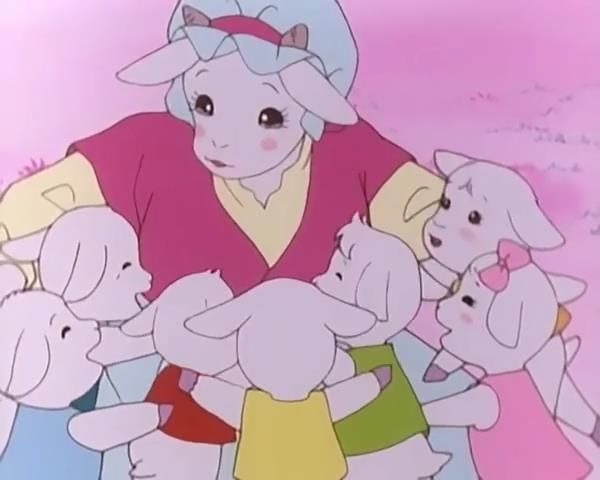 حكايات ما احلاها حكاية الذئب والخراف السبعة Preschool Colors Character Preschool