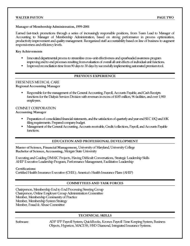 Finance executive resume httpwwwresumecareerinfo