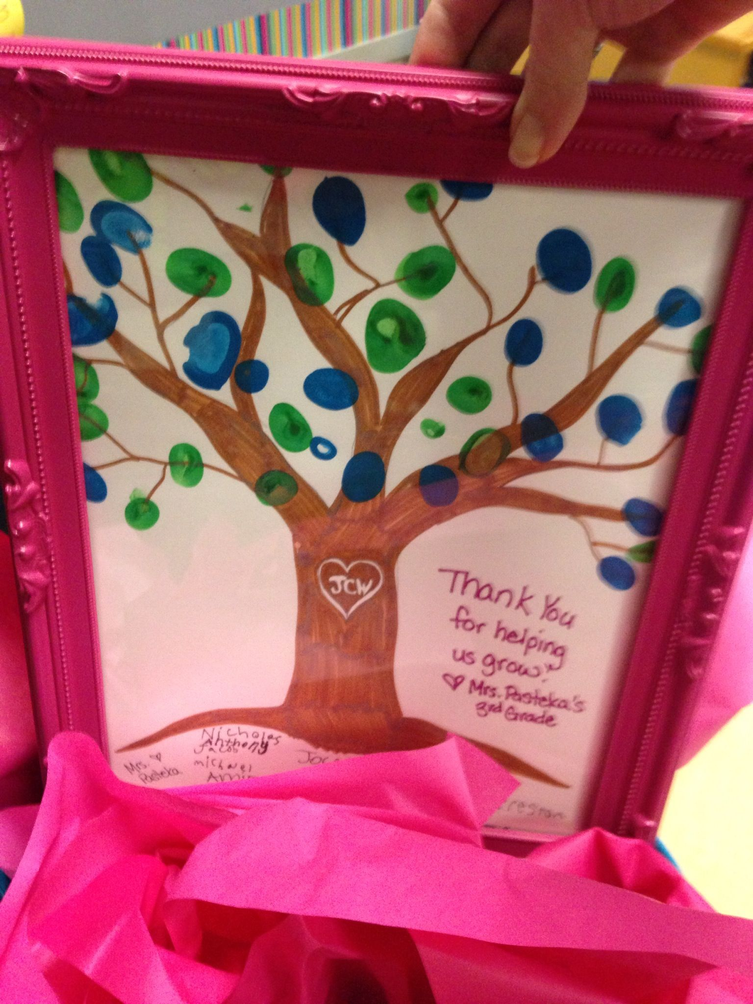 Baby Gift Ideas For Teachers From Students : Gift for my student teacher school ideas