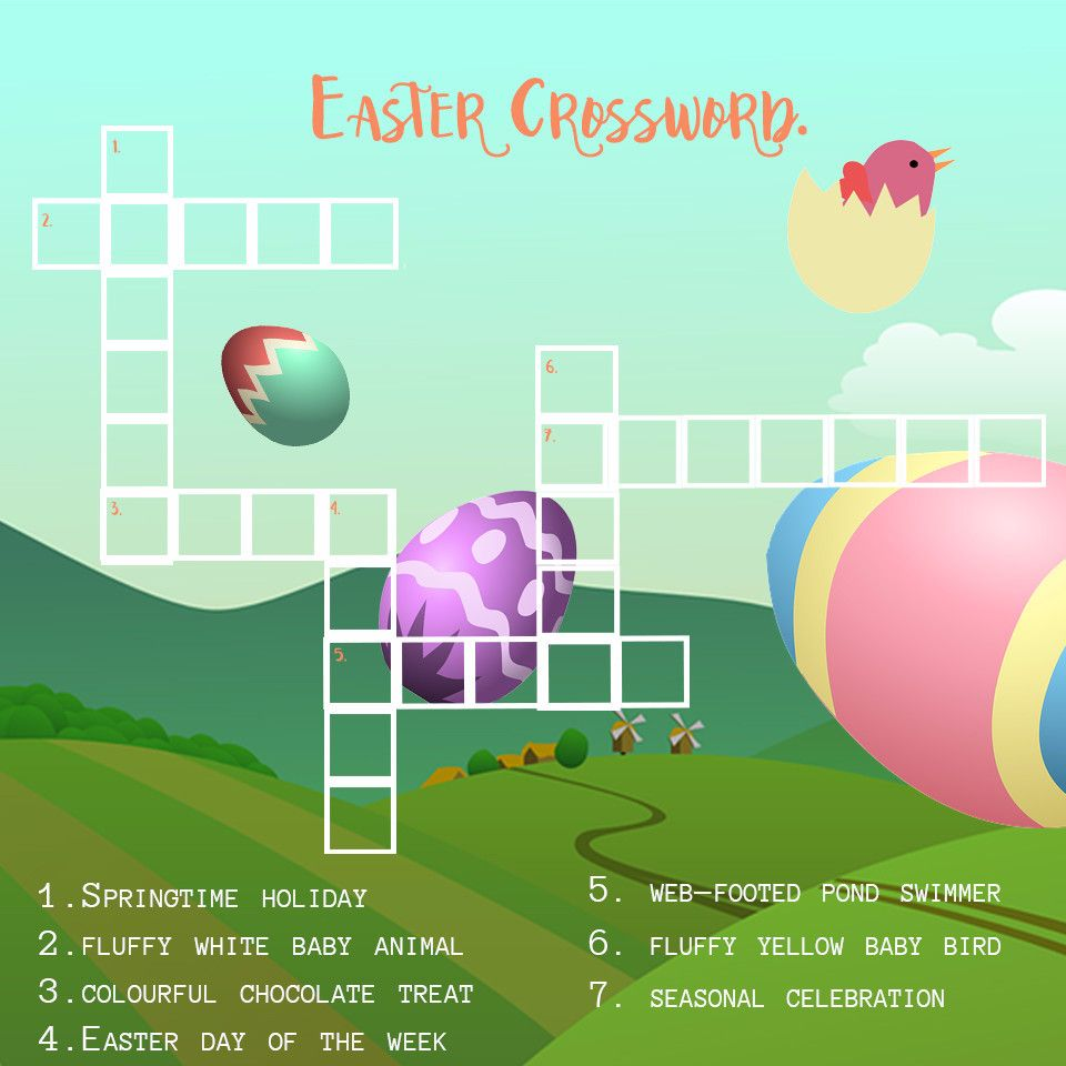 Some fun to keep your kiddos busy the day before Easter.
