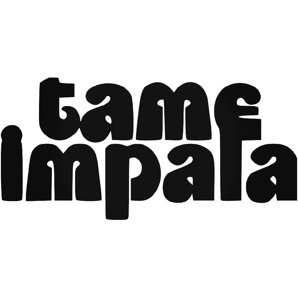 Tame Impala Band Logo Vinyl Decal Sticker Aftermarket