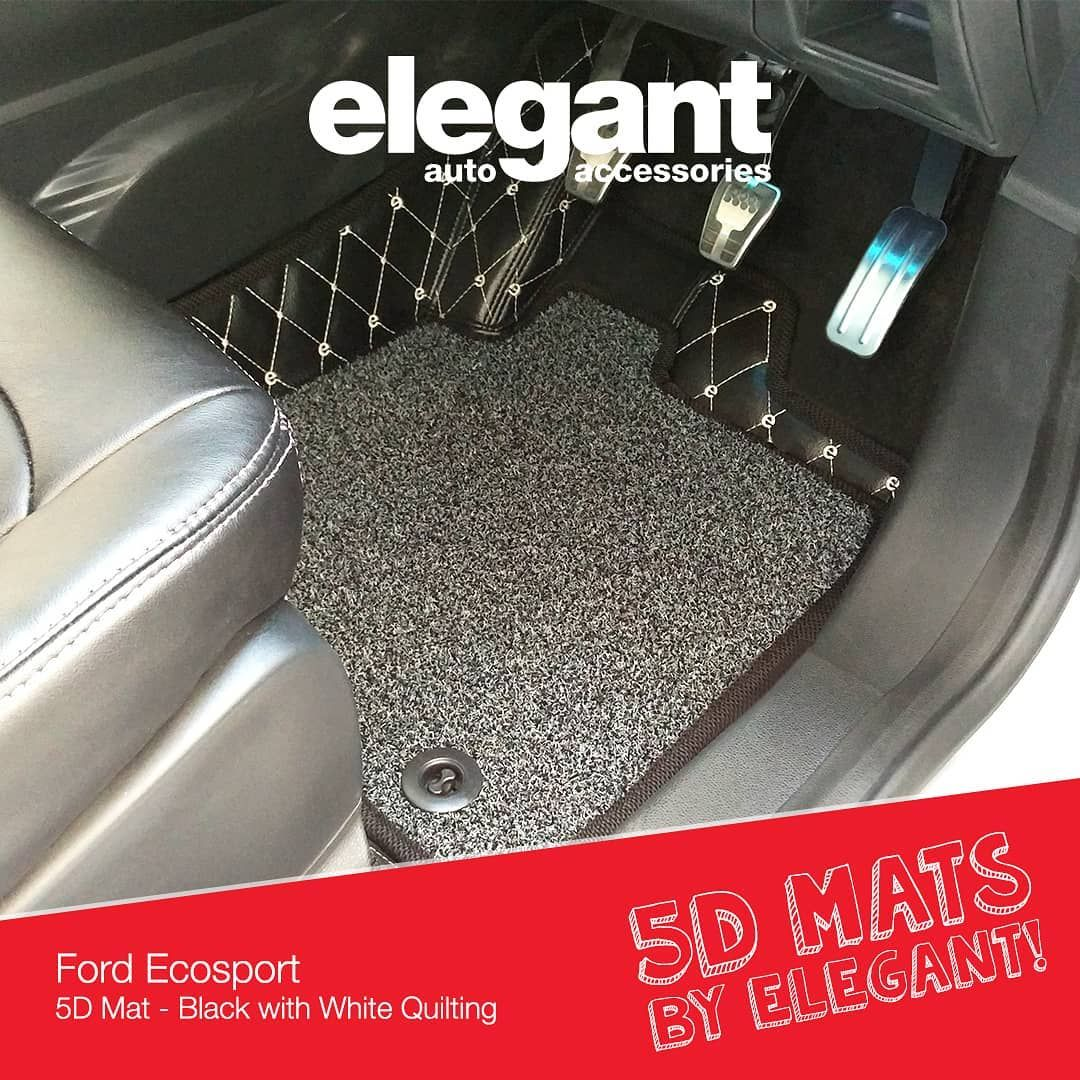 Designed For Elegance And Made With Precision Elegant 5d Mats Will Give Your Car Interiors A Bold Luxurious Look Thes Car Floor Mats Ford Ecosport Floor Mats