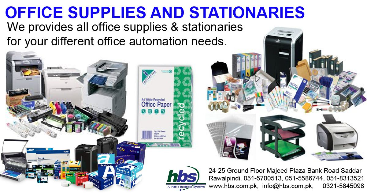 Office Supplies And Stationary We Provides All Office Supplies