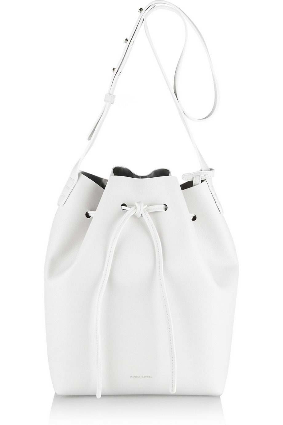These Mansur Gavriel Bucket Bags Out So Fast Really Like This Sleek White