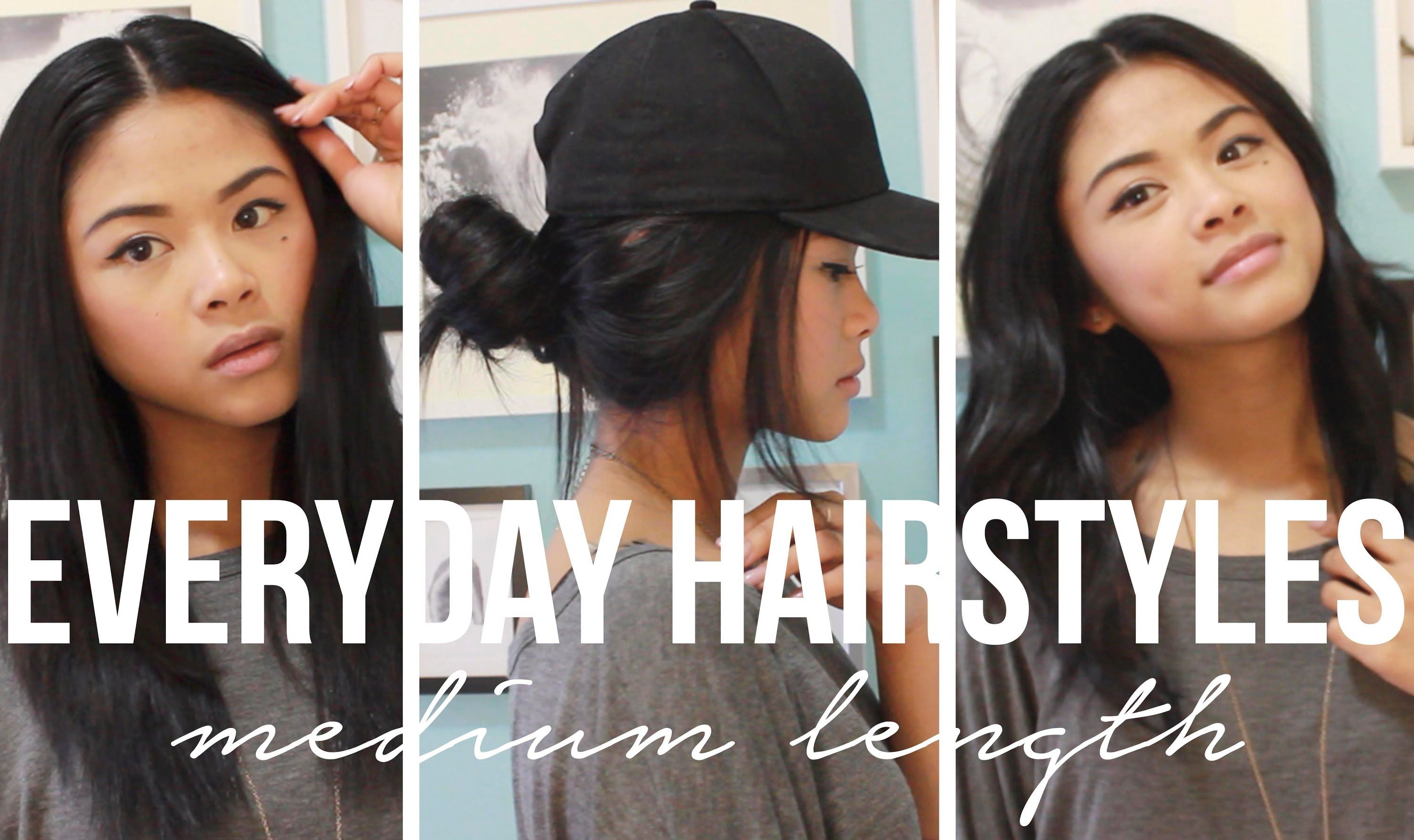 everyday hairstyles for medium length hair  tothe9s