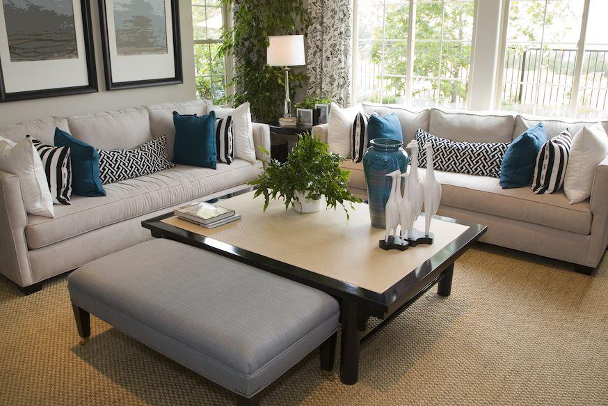Carpet in akron cottage style living room elegant