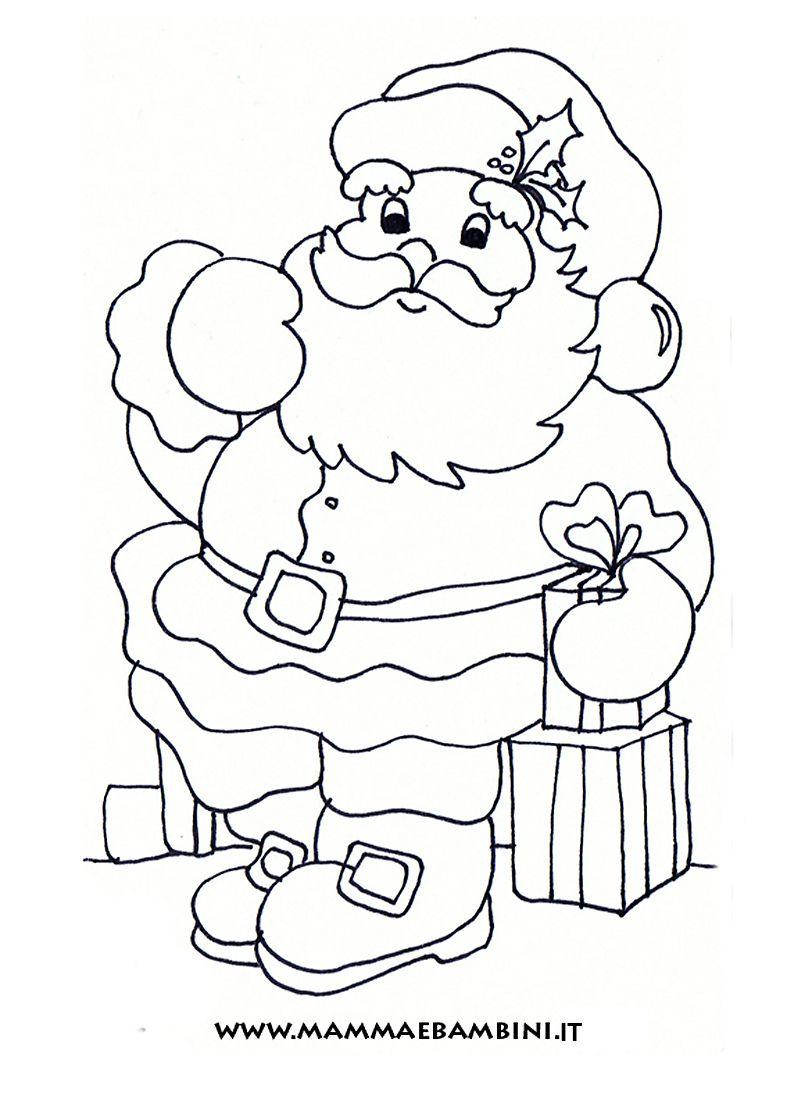 Bambini Babbo Natale Disegno.Pin Di Marita Lozano Su Christmas Disegni Da Colorare Natalizi Colori Di Natale Bambini Da Colorare