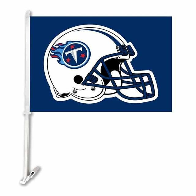 Tennessee Titans Double Sided Car Product Car Polyester