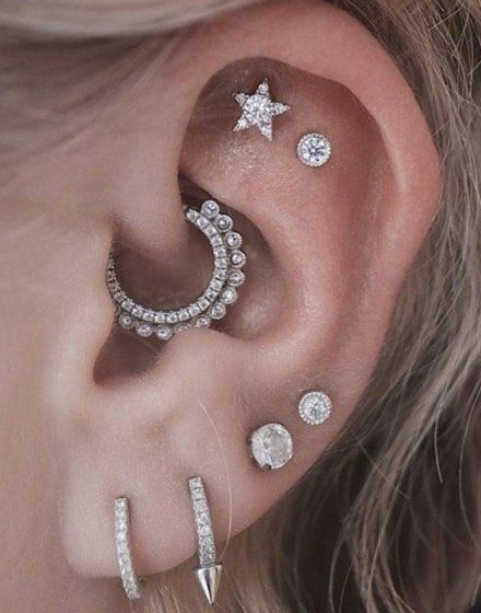 Constellation Piercings Are a Thing and You Need Them Now