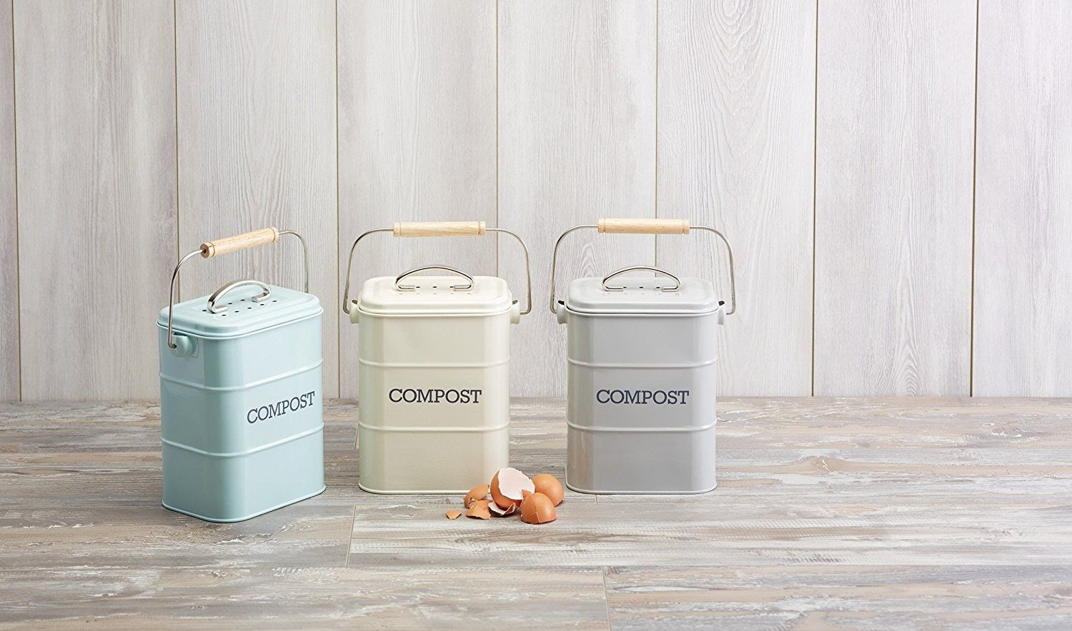 7 Compact Good Looking Indoor Composting Bins For Your Kitchen