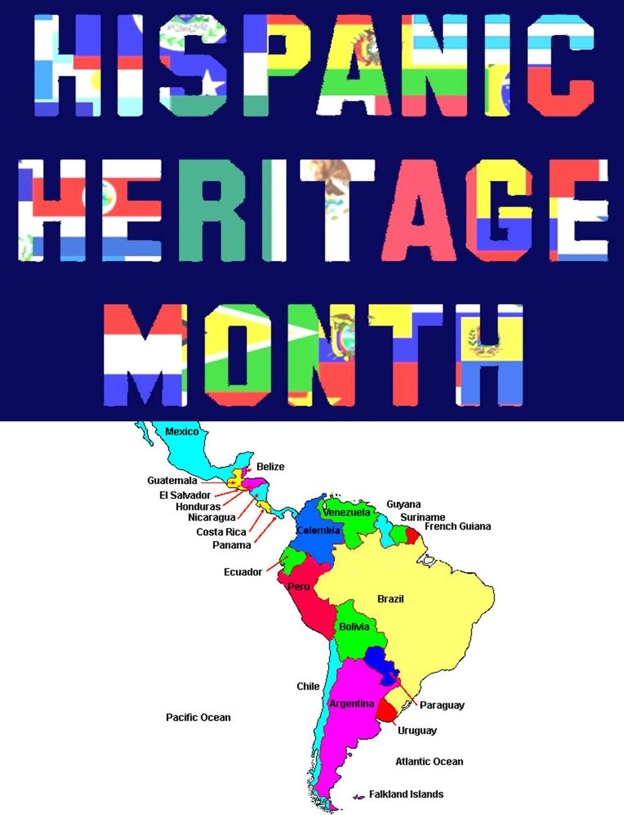 Hispanic Heritage Month Recommended Book List Inside