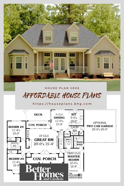 Affordable House Plan Affordable House Plans Building Plans House House Plans