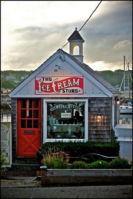 The Ice Cream Store Rockport Ma Usa Boston Restaurants In 2018